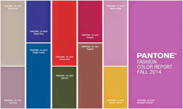 La imagen personal y los Colores tendencia Otoño-Invierno 2014-15