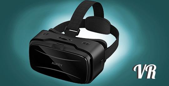 gafas de realidad virtual aukey