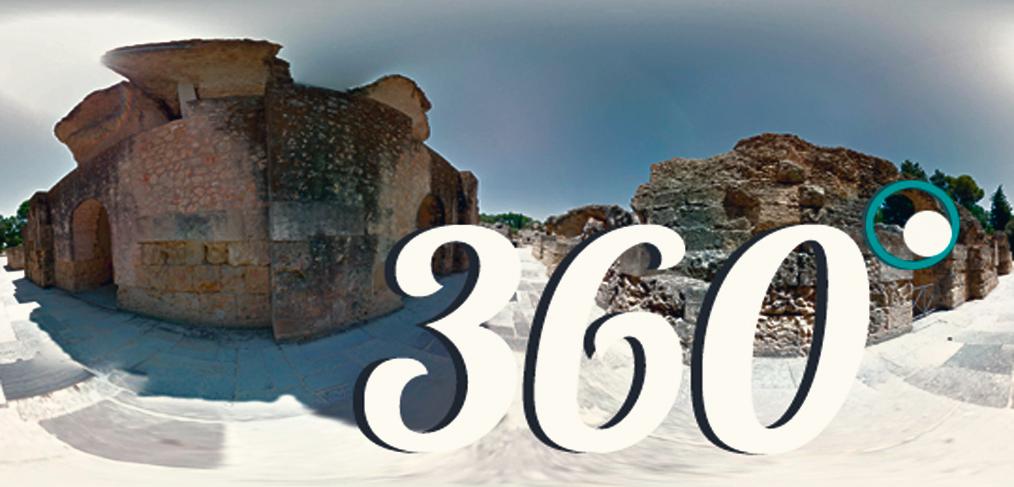 Creación inmersiva mediante fotografía 360